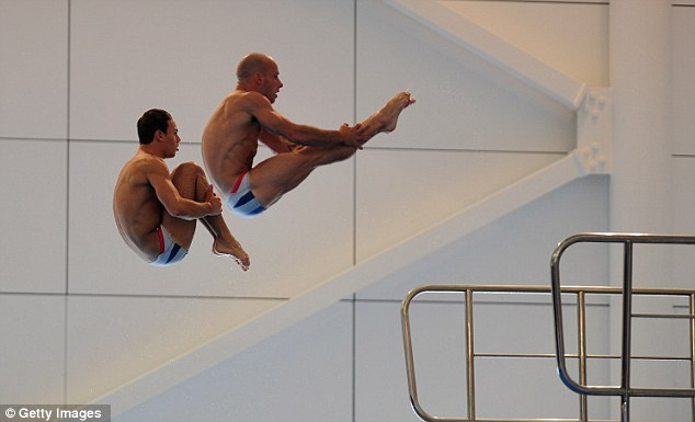 In sync lads? Daley and Waterfield will compete in the men's synchro diving
