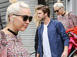 08 April 2016 - West Hollywood, CA  - USA\n**STRICTLY AVAILABLE FOR UK AND GERMANY USE ONLY**\n*STRICTLY NO WEB USAGE UNTIL FURTHER NOTICE*\n*PREMIUM EXCLUSIVE -MUST CALL FOR PRICING*\nAmid troubled relationship rumors, Miley Cyrus and Liam Hemsworth have a rainy day lunch date with the Hemsworth brothers at Gracias Madre in West Hollywood. Miley and her fiancee Liam looked happy as can be as they exited the popular eatery after meeting for lunch with brothers Chris, Luke and his wife Samantha Hemsworth.\nBYLINE MUST READ : AKM-GSI-XPOSURE\n***UK CLIENTS - PICTURES CONTAINING CHILDREN PLEASE PIXELATE FACE PRIOR TO PUBLICATION ***\n*UK CLIENTS MUST CALL PRIOR TO TV OR ONLINE USAGE PLEASE TELEPHONE 0208 344 2007*\n