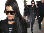 Picture Shows: Kourtney Kardashian  April 11, 2016\n \n Reality star Kourtney Kardashian departing on a flight at LAX airport in Los Angeles, California. The busy mother of three is leaving town again after recently returning from Vail, Colorado.\n \n Non Exclusive\n UK RIGHTS ONLY\n \n Pictures by : FameFlynet UK � 2016\n Tel : +44 (0)20 3551 5049\n Email : info@fameflynet.uk.com