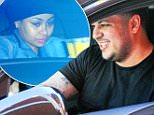 April 12, 2015: Rob Kardashian and fiancee Blac Chyna are spotted picking up some fast food at the McDonald's drive thru. Kardashian then dropped Blac Chyna off in Beverly Hills where she ran some errands on her own.\nMandatory Credit: Lek/INFphoto.com Ref: infusla-298