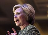 Democratic presidential candidate Hillary Clinton speaks during a Suffolk County democratic dinner in Holbrook, N.Y., Monday, April 11, 2016. (AP Photo/Seth Wenig)