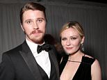 BEVERLY HILLS, CA - JANUARY 10:  Actors Garrett Hedlund and Kirsten Dunst attend FOX Golden Globe Awards Party 2016 sponsored by American Airlines at The Beverly Hilton Hotel on January 10, 2016 in Beverly Hills, California.  (Photo by Todd Williamson/Getty Images for FOX)