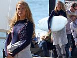 Blake Lively films scenes for 'The Shallows' on the beach in Malibu, CA.\n\nPictured: Blake Lively\nRef: SPL1258734  120416  \nPicture by: TC/Splash News\n\nSplash News and Pictures\nLos Angeles: 310-821-2666\nNew York: 212-619-2666\nLondon: 870-934-2666\nphotodesk@splashnews.com\n