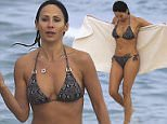 EXC NATALIE IMBRUGLIA HITS THE BEACH WITH A MYSTERY OLDER MAN IN BYRON BAY\nEXCLUSIVE\n11 April 2016\n©MEDIA-MODE.COM