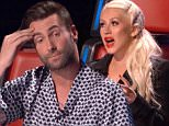 LOS ANGELES, CA: April 13, 2016 -- The Voice\nAmerican votes and the top two performers from each team advance to the lives shows. Coaches Christina Aguilera, Adam Levine, Blake Shelton, and Pharrell Williams save one remaining artist from their teams.\nThe Voice is a competition show where the best of the best singers compete against each other in a competition to be able to be coached by the finest coaches in the music industry. In a twist of format from previous seasons, a judge may ¿steal¿ a contestant who lost a battle and add them to their own team. Each coach may steal a maximum of two artists. Host Carson Daly along with Christina Aguilera, Blake Shelton, Ferrell, and Adam Levine will look at the talent first in a Blind Audition where the coaches are going to have to pick 4 singers who are going to be good for them to coach. Each week an elimination resulting in one person on their team to compete for the title as ¿The Voice¿ in a live finale.\n\nThe show will have three stage