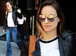 Olivia Wilde grab the taxi in New York City, New York on April 13, 2016.\n\nPictured: Olivia Wilde\nRef: SPL1262522  130416  \nPicture by: NIGNY / Splash News\n\nSplash News and Pictures\nLos Angeles: 310-821-2666\nNew York: 212-619-2666\nLondon: 870-934-2666\nphotodesk@splashnews.com\n
