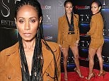 Mandatory Credit: Photo by REX/Shutterstock (5636027q) Jada Pinkett Smith STX Red carpet at CinemaCon, Las Vegas, America - 12 Apr 2016