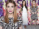 Mandatory Credit: Photo by REX/Shutterstock (5636126ac) Emma Roberts NARS and Ashlee Margolis host a dinner to celebrate SUNO's fall collection, Los Angeles, America - 12 Apr 2016