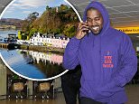 10 April 2016.\nKanye West arriving at Heathrow Airport all smiles. Kanye was wearing an as yet unreleased pair of his Yeezy Boost 350 trainers, as well as a Pablo hoodie, to promote his new album\nCredit: Will/GoffPhotos.com   Ref: KGC-305\n
