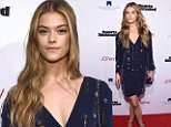 eURN: AD*202832360  Headline: Sports Illustrated Fashionable 50 Event Caption: NEW YORK, NEW YORK - APRIL 12:  Sports Illustrated Swimsuit 2016 model Nina Agdal attends Sports Illustrated's Fashionable 50 event at Vandal on April 12, 2016 in New York City.  (Photo by Dave Kotinsky/Getty Images for Sports Illustrated) Photographer: Dave Kotinsky  Loaded on 13/04/2016 at 03:54 Copyright: Getty Images North America Provider: Getty Images for Sports Illustrated  Properties: RGB JPEG Image (18512K 1460K 12.7:1) 1997w x 3164h at 96 x 96 dpi  Routing: DM News : GroupFeeds (Comms), GeneralFeed (Miscellaneous) DM Showbiz : SHOWBIZ (Miscellaneous) DM Online : Online Previews (Miscellaneous), CMS Out (Miscellaneous)  Parking: