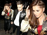12 Apr 2016 - London - UK  Cheryl Fernandez-Versini and Liam Payne seen here arriving at Sexy Fish restaurant in London pictured for the first time in weeks and the first time Cheryl has been pictured since quitting the X Factor. Liam was seen grasping Cheryls hand as he helped her into the restaurant.   BYLINE MUST READ : XPOSUREPHOTOS.COM  ***UK CLIENTS - PICTURES CONTAINING CHILDREN PLEASE PIXELATE FACE PRIOR TO PUBLICATION ***  **UK CLIENTS MUST CALL PRIOR TO TV OR ONLINE USAGE PLEASE TELEPHONE   44 208 344 2007 **