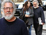 """Picture Shows: Lisa Hoffman, Dustin Hoffman  April 11, 2016\n \n Actor and director Dustin Hoffman out on a romantic stroll with his wife, Lisa in New York City, New York. Dustin held a book that was titled, """"The Art of Reading"""" by Lawrence Schwartzwald.\n \n Non Exclusive\n UK RIGHTS ONLY\n \n Pictures by : FameFlynet UK © 2016\n Tel : +44 (0)20 3551 5049\n Email : info@fameflynet.uk.com"""
