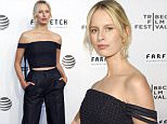 Model Karolina Kurkova attends the premiere of 'The First Monday In May' World Premiere during the 2016 Tribeca Film Festival Opening Night at John Zuccotti Theater at BMCC Tribeca Performing Arts Center in New York on April 13, 2016. / AFP PHOTO / KENA BETANCURKENA BETANCUR/AFP/Getty Images