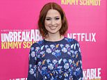 FILE - APRIL 13: Actress Ellie Kemper is reportedly expecting her first child with husband Michael Koman. NEW YORK, NY - MARCH 30:  Actress Ellie Kemper attends the 'Unbreakable Kimmy Schmidt' Season 2 world premiere at SVA Theatre on March 30, 2016 in New York City.  (Photo by Neilson Barnard/Getty Images)