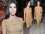 Los Angeles, CA - Kourtney Kardashian attends the Alice + Olivia Fashion show at Neuehouse Hollywood in Los Angeles.    AKM-GSI   April 13, 2016 To License These Photos, Please Contact : Steve Ginsburg  (310) 505-8447  (323) 423-9397  steve@akmgsi.com  sales@akmgsi.com    or    Maria Buda  (917) 242-1505  mbuda@akmgsi.com  ginsburgspalyinc@gmail.com