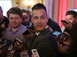 Corey Lewandowski, campaign manager for Republican presidential candidate Donald Trump, pictured March 11, 2016, was arrested for allegedly grabbing a reporter ©Joe Raedle (Getty/AFP/File)