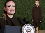 eURN: AD*202831877  Headline: World Food Program USA's Annual McGovern-Dole Leadership Award Ceremony Caption: WASHINGTON, DC - APRIL 12:  Actress Olivia Wilde attends the World Food Program USA's Annual McGovern-Dole Leadership Award Ceremony at Organization of American States on April 12, 2016 in Washington, DC.  (Photo by Paul Morigi/Getty Images for World Food Program USA) Photographer: Paul Morigi  Loaded on 13/04/2016 at 03:44 Copyright: Getty Images North America Provider: Getty Images for World Food Prog  Properties: RGB JPEG Image (19186K 3604K 5.3:1) 2103w x 3114h at 96 x 96 dpi  Routing: DM News : GroupFeeds (Comms), GeneralFeed (Miscellaneous) DM Showbiz : SHOWBIZ (New Topic 2) DM Online : Online Previews (Miscellaneous), CMS Out (Miscellaneous)  Parking: