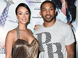 HOLLYWOOD, CA - MARCH 07:  TV Personality Draya Michele (L) and athlete  Orlando Scandrick attend the premiere of Lionsgate's 'The Perfect Match' at ArcLight Hollywood on March 7, 2016 in Hollywood, California.  (Photo by Emma McIntyre/Getty Images)