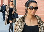 New York, NY - Padma Lakshmi is seen looking sexy in a little black dress and knee high boots paired with a leopard print coat as she leaves her apartment to get lunch. \nAKM-GSI       April 13, 2016\nTo License These Photos, Please Contact :\nSteve Ginsburg\n(310) 505-8447\n(323) 423-9397\nsteve@akmgsi.com\nsales@akmgsi.com\nor\nMaria Buda\n(917) 242-1505\nmbuda@akmgsi.com\nginsburgspalyinc@gmail.com