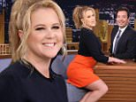 eURN: AD*202833784  Headline: The Tonight Show Starring Jimmy Fallon - Season 3 Caption: THE TONIGHT SHOW STARRING JIMMY FALLON -- Episode 0453 -- Pictured: Comedian Amy Schumer on April 12, 2016 -- (Photo by: Andrew Lipovsky/NBC/NBCU Photo Bank via Getty Images) Photographer: NBC  Loaded on 13/04/2016 at 04:14 Copyright:  Provider: NBCUniversal  Properties: RGB JPEG Image (18530K 1901K 9.8:1) 1999w x 3164h at 96 x 96 dpi  Routing: DM News : GroupFeeds (Comms), GeneralFeed (Miscellaneous) DM Showbiz : SHOWBIZ (Miscellaneous) DM Online : Online Previews (Miscellaneous), CMS Out (Miscellaneous)  Parking: