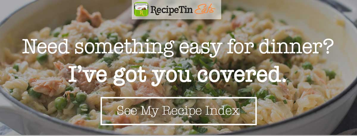 RecipeTin Eats recipes
