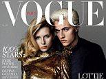 Vogue paris  Lottie Moss and Blue Smith