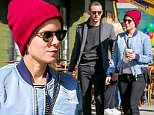 Picture Shows: Kate Mara, Jamie Bell  April 14, 2016\n \n 'The Martian' actress Kate Mara was spotted out for a walk with her boyfriend Jamie Bell in New York City, New York. The two appeared to be holding hands, but stopped after their photos were taken. \n \n Non-Exclusive\n UK RIGHTS ONLY\n \n Pictures by : FameFlynet UK © 2016\n Tel : +44 (0)20 3551 5049\n Email : info@fameflynet.uk.com