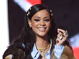 NEWARK, NEW JERSEY - APRIL 01:  Rihanna onstage at Black Girls Rock! 2016 at New Jersey Performing Arts Center on April 1, 2016 in Newark, New Jersey.  (Photo by Paras Griffin/WireImage)