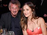 LOS ANGELES, CA - APRIL 13: Actors Sean Penn (L) and Minka Kelly attend the launch of the Parker Institute for Cancer Immunotherapy, an unprecedented collaboration between the country's leading immunologists and cancer centers on April 13, 2016 in Los Angeles, California.  (Photo by Kevin Mazur/Getty Images for Parker Media)