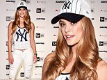 NEW YORK, NY - APRIL 14:  Model Nina Agdal attends Locker Room by LIDS at Macy's Herald Square on April 14, 2016 in New York City.  (Photo by Bryan Bedder/Getty Images for New Era)