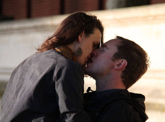 Kiss, Lambeth Palace Gardens, Foto: Kathryn Wilkins