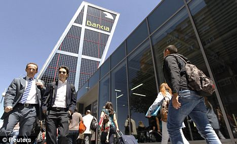 Euro crisis: Bailout of Bankia has raised concern about the bad debts held by the rest of Spain's banks