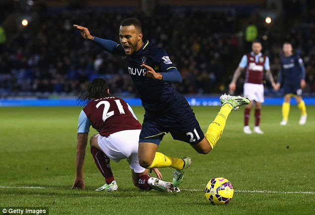 Bertrand went down under Boyd's challenge and a penalty was rightly awarded to Southampton