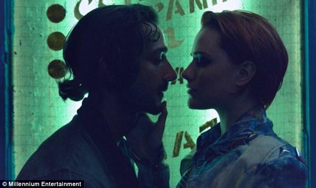 Love triangle: Evan stars in Charlie Countryman with Shia LaBeouf