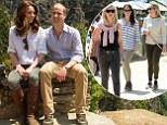 duke duchess kate middleton catherine cambrige prince william in Bhutan