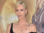 """OIC - FEATUREFLASH.COM - Charlize Theron at the US premiere of """"The Huntsman: Winter's War"""" at the Regency Village Theatre, Westwood.  Los Angeles. April 11, 2016  Photo Paul Smith/FeatureFlash/OIC Call OIC 0203 174 1069 for fees and usages or contact@oicphotos.com"""