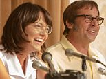 First Battle of the Sexes photo as filming begins Fox Searchlight Pictures Presidents Stephen Gilula and Nancy Utley announced today that principal photography for Battle of the Sexes has begun in Los Angeles. Check out the first Battle of the Sexes photo, along with a photo of the original 1973 press conference, in the gallery below!  The film stars Oscar-nominees Emma Stone (Birdman, The Help), Steve Carell (Foxcatcher, The Big Short), and Elisabeth Shue (Leaving Las Vegas, Chasing Mavericks) along with Sarah Silverman (?Masters of Sex?, I Smile Back), Alan Cumming (?The Good Wife?, X-Men 2), Andrea Riseborough (Birdman), Eric Christian Olsen (?CSI: Los Angeles?), Natalie Morales (?The Grinder?), Austin Stowell (Bridge of Spies, Whiplash), Wallace Langham (Ruby Sparks, Little Miss Sunshine), Jessica McNamee (Last Days of Summer), Mickey Sumner (The End of the Tour) and Bill Pullman (The Equalizer).  Directors Jonathan Dayton and Valerie Faris, creators of the Oscar-winning Little Mi