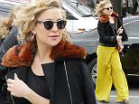 BERLIN, GERMANY - APRIL 14:  Kate Hudson sighted on April 14, 2016 in Berlin, Germany.  (Photo by Chad Buchanan/GC Images)