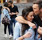 The live at opposite ends of the country so any chance to spend time together is clearly precious to Mark Wright and Michelle Keegan.