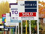 Estate Agent's boards.  Property prices fell by 0.9% during August as the housing market continued to show signs of weakening, figures revealed today.  The latest drop follows a slide of 0.5% in July, and is the first time that house prices have dropped for two consecutive months since February 2009, according to Nationwide.    File photo dated 15/11/06. PRESS ASSOCIATION Photo. Issue date: Thursday September 2 2010. See PA story ECONOMY House. Photo credit should read: Chris Radburn/PA Wire