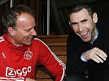 Martin Keown visits Ajax to catch up with Dennis Bergkamp 06/04/16: Picture Kevin Quigley/Daily Mail
