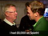 Sir Alex Ferguson Tells Masters Winner Danny Willett He Had £8,000 on Jordan Spieth to Win