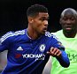 LONDON, ENGLAND - APRIL 16: Ruben Loftus-Cheek of Chelsea is chased down my Eliaquim Mangala of Manchester City during the Barclays Premier League match between Chelsea and Manchester City at Stamford Bridge on April 16, 2016 in London, England.  (Photo by Paul Gilham/Getty Images)