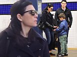 Julianna Margulies and her family were spotted taking the NYC subway like true New Yorkers on Saturday. She swiped her metro card and blended right in with the crowd. They held hands whilst walking down the street.\n\nPictured: Julianna Margulies, Keither Lieberthal\nRef: SPL1264210  160416  \nPicture by: 247PAPS.TV / Splash News\n\nSplash News and Pictures\nLos Angeles: 310-821-2666\nNew York: 212-619-2666\nLondon: 870-934-2666\nphotodesk@splashnews.com\n