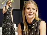 Mandatory Credit: Photo by Startraks Photo/REX/Shutterstock (5647454d)\nGwyneth Paltrow\n'Goop' conversation, Chicago, America - 14 Apr 2016\nInside goop with Gwyneth Paltrow & Lisa Gersh\n