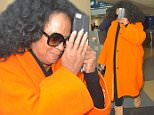 Diana Ross arrives at LAX in bright Orange Dress\n\nPictured: Diana Ross\nRef: SPL1264260  150416  \nPicture by: MONEY$HOT/ Splash News\n\nSplash News and Pictures\nLos Angeles: 310-821-2666\nNew York: 212-619-2666\nLondon: 870-934-2666\nphotodesk@splashnews.com\n