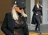 "Vancouver, BC - Rita Ora heads leaves her condo and heads to the set of ""50 Shades Darker."" The Biritsh singer is feeling the dark vibes as she dresses in all black clothing including a black cap, long coat, black bra under a sheer/ fishnet top, ripped jeans, and black Adidas sneakers.    AKM-GSI       April 15, 2016 To License These Photos, Please Contact : Steve Ginsburg (310) 505-8447 (323) 423-9397 steve@akmgsi.com sales@akmgsi.com or Maria Buda (917) 242-1505 mbuda@akmgsi.com ginsburgspalyinc@gmail.com"