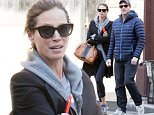 EXCLUSIVE TO INF.\nApril 15, 2016: Good-looking couple Christy Turlington and Edward Burns in casual workout wear seen out for a walk in Soho, New York City.\nMandatory Credit: INFphoto.com Ref.: infusny-279