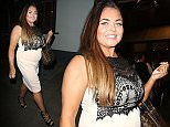 Picture Shows: Scarlett Moffatt  April 12, 201\n \n Scarlet Moffatt was spotted leaving The Groucho Club in London, England. The star of Channel 4 hit reality show Gogglebox wore a beige dress and heels as she strolled out of the trendy club and through Soho on her own on a night out.\n \n Exclusive All round\n WORLDWIDE RIGHTS\n \n Pictures by : FameFlynet UK © 2016\n Tel : +44 (0)20 3551 5049\n Email : info@fameflynet.uk.com