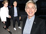 Ellen DeGeneres and Portia de Rossi are spotted by Craig's Restaurant in Hollywood, CA  Ref: SPL1264583  140416   Picture by: London Entertainment/Splash News  Splash News and Pictures Los Angeles: 310-821-2666 New York: 212-619-2666 London: 870-934-2666 photodesk@splashnews.com